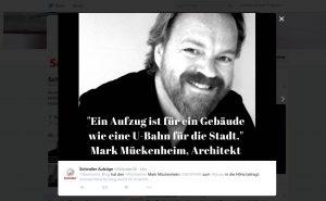 Schindler-Tweet